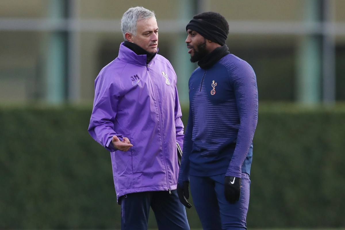 Danny Rose and Jose Mourinho filmed having heated exchange in All or Nothing as he calls treatment 'unfair' and hits out at some teammates