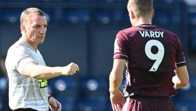 Photo of Leicester boss Brendan Rodgers claims Jamie Vardy may stroll into any group within the Premier League after notching double in West Brom victory