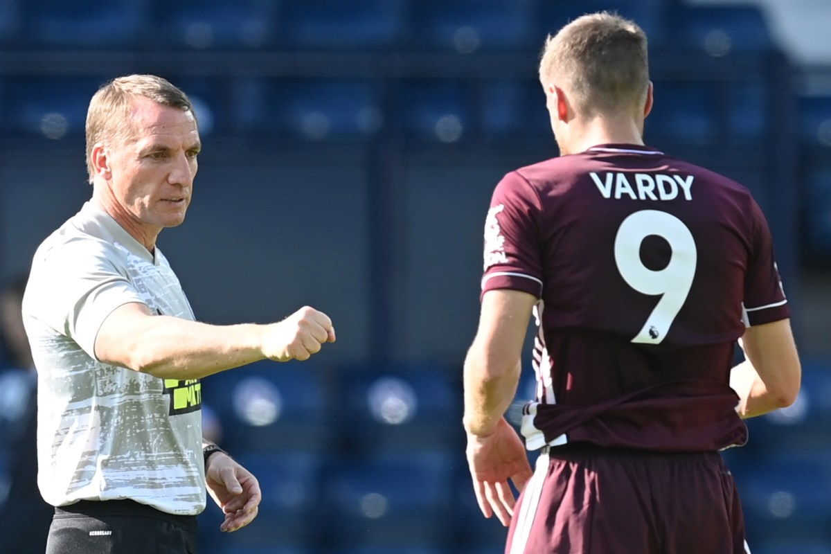 Leicester boss Brendan Rodgers claims Jamie Vardy could walk into any team in the Premier League after notching double in West Brom victory
