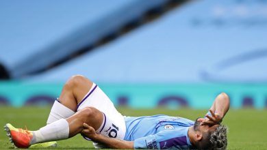 Photo of Sergio Aguero might be out for one more two months as Pep Guardiola reveals knee damage troubles