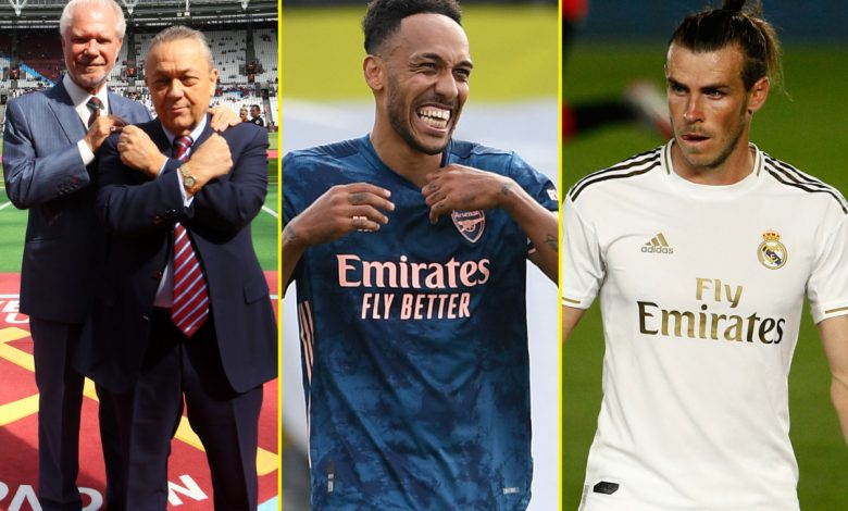 Transfer news LIVE: Bale to join Tottenham on loan while Reguilon to sign on permanent deal, Aubameyang contract reaction