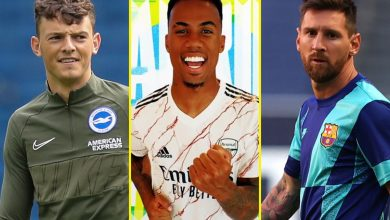 Photo of Switch information LIVE: Messi agrees five-year contract with Man Metropolis price £623m, Rodriguez set for Everton transfer, PSG assured of touchdown Arsenal ace Bellerin