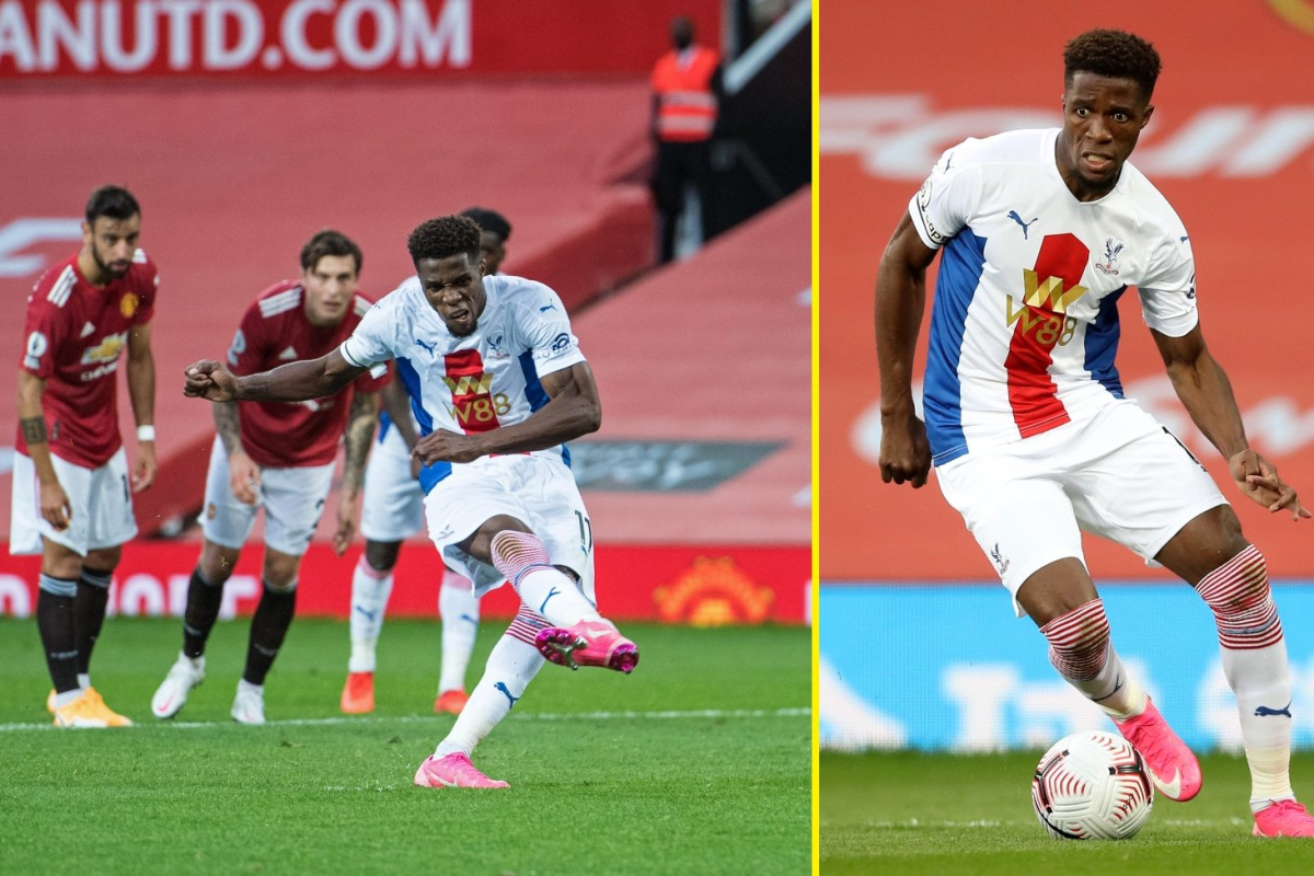 Wilfried Zaha's great performance vs Manchester United due to him playing for transfer away from Crystal Palace, talkSPORT told