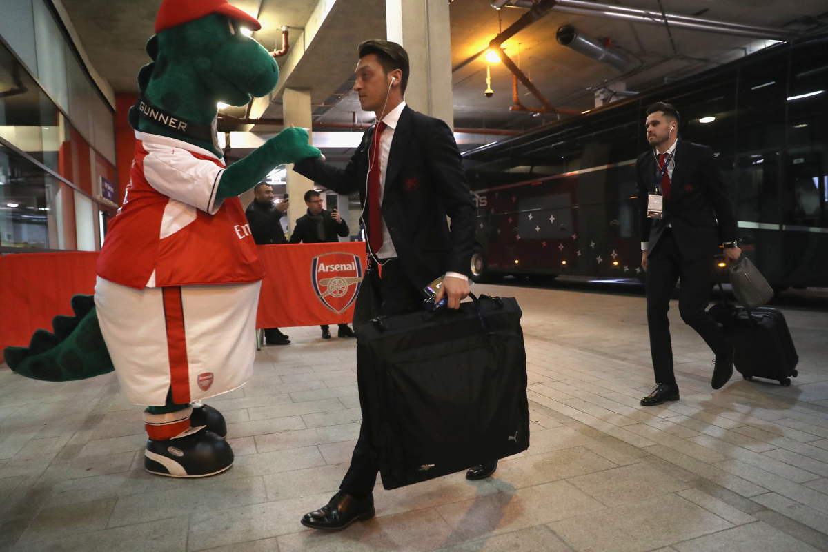 Arsenal to renew efforts to offload Mesut Ozil as unwanted star offers to pay salary of sacked mascot Gunnersaurus
