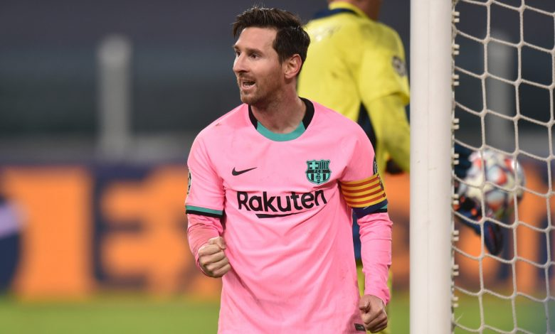 Barcelona poke fun at Cristiano Ronaldo and Juventus by claiming that Lionel Messi is real 'GOAT' after Argentine superstar dazzles in Champions League victory