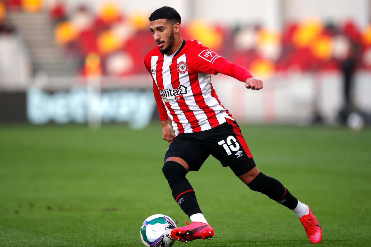 Brentford boss makes final transfer plea to Said Benrahma following stunning display in Carabao Cup