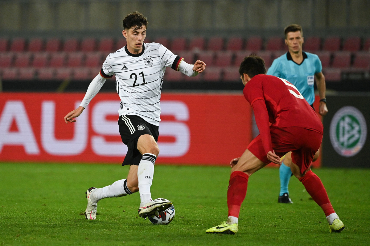 Chelsea new boy Kai Havertz runs show for Germany with TWO delightful assists against Turkey