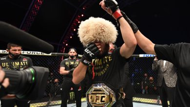Photo of Conor McGregor's teammate Dillon Danis rapidly deletes Tweet about Khabib Nurmagomedov as Russian retires after beating Justin Gaethje at UFC 254