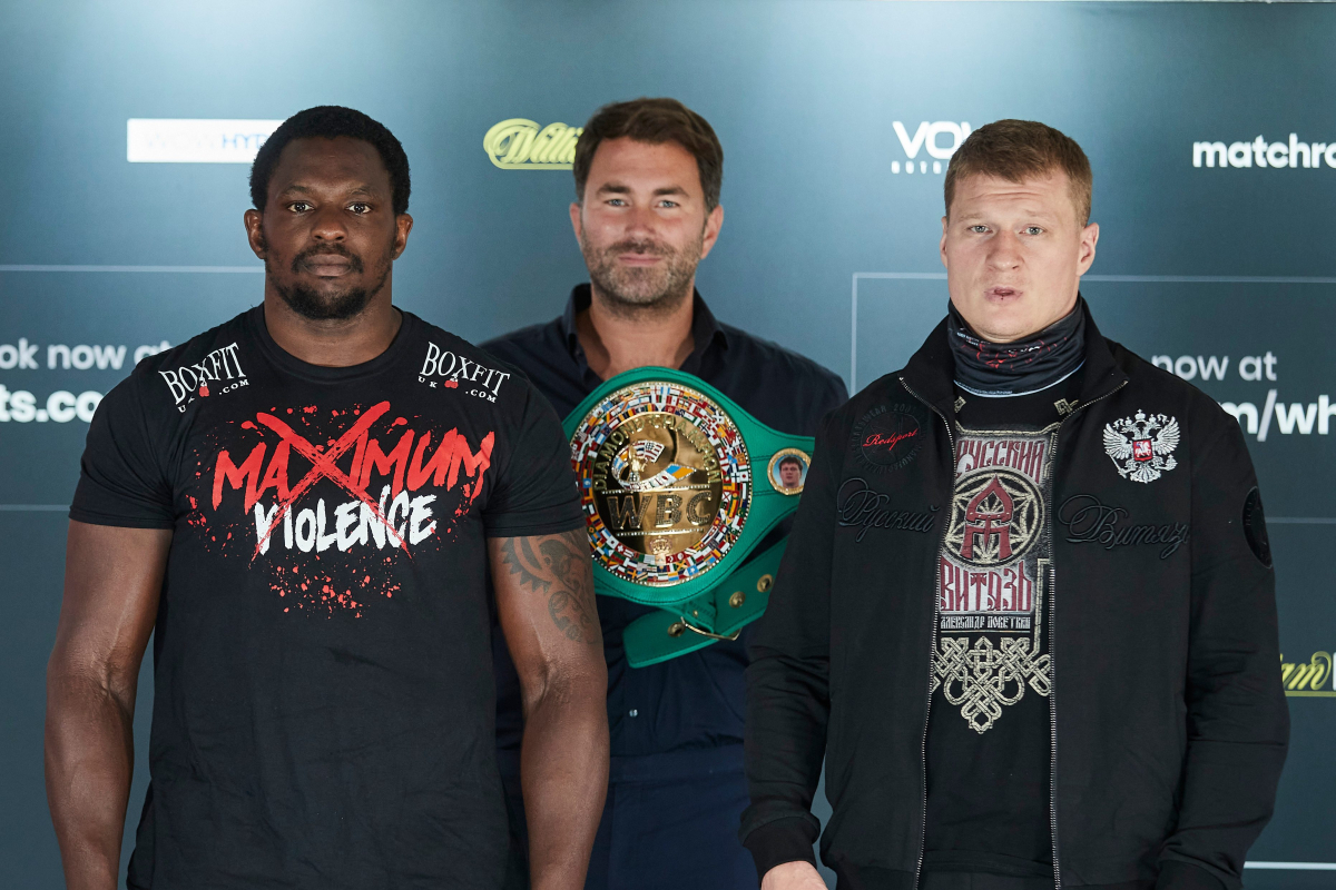 Dillian Whyte EXCLUSIVE: I'm not a coward, that's why I'm taking Alexander Povetkin rematch straight away