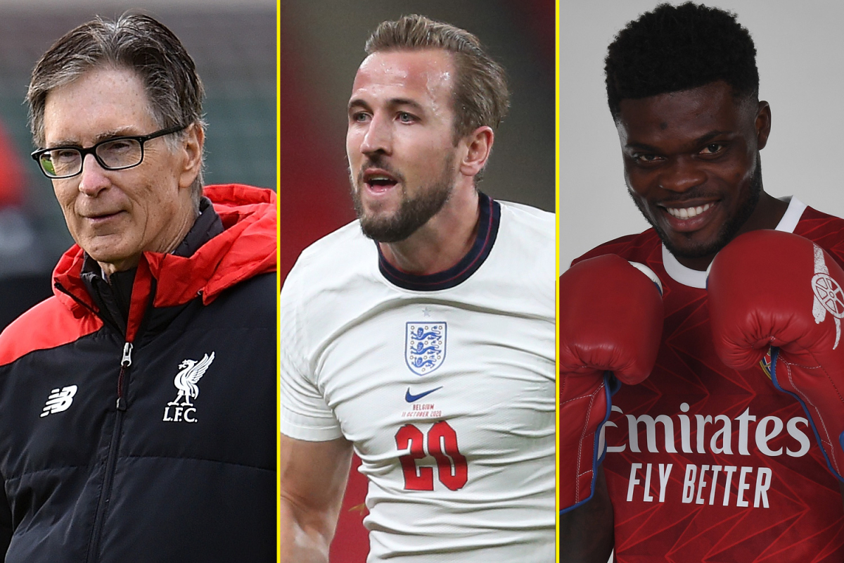 FA chief reveals plot for big six to quit Premier League, Liverpool owners to buy sister club, Kane fit for England, Partey's Arsenal title target – latest football news and gossip