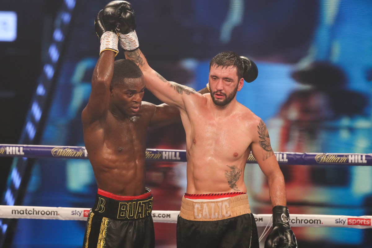 Joshua Buatsi Vs Marko Calic RESULTS: Buatsi secures a stoppage victory and the UK welcomes another world champion