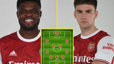 Photo of Kieran Tierney and Thomas Partey IN, Kevin De Bruyne and Gabriel Jesus OUT: How Arsenal and Man Metropolis ought to line up as Gunners get main enhance