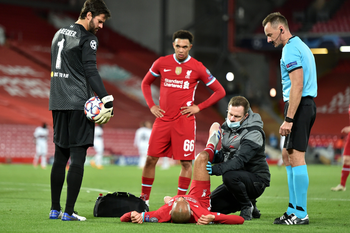 Liverpool boss Jurgen Klopp gives worrying Fabinho injury update and explains why Jordan Henderson was substituted
