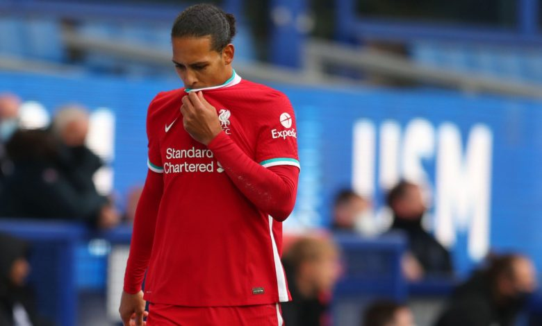 Liverpool confirm Virgil van Dijk has suffered knee ligament damage following horror Jordan Pickford tackle and faces months on sidelines