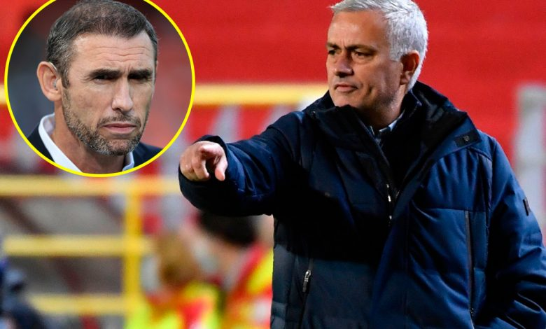 Martin Keown calls Jose Mourinho 'childish' after Tottenham manager criticises his players on Instagram following Europa League defeat