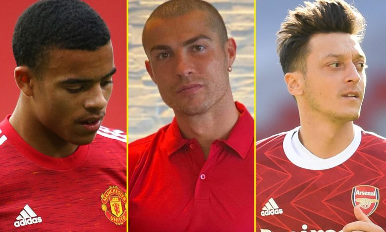 Mason Greenwood branded 'sloppy and unprofessional' amid Manchester United issues, Arsenal/Mesut Ozil situation is 'pure stupidity', Cristiano Ronaldo to miss Lionel Messi reunion