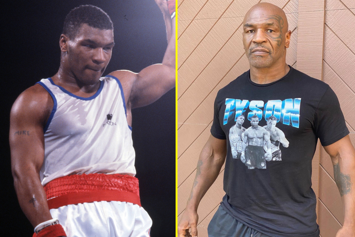 Mike Tyson makes stunning body transformation admission as Roy Jones Jr brands the pair 'freaks' ahead of exhibition bout