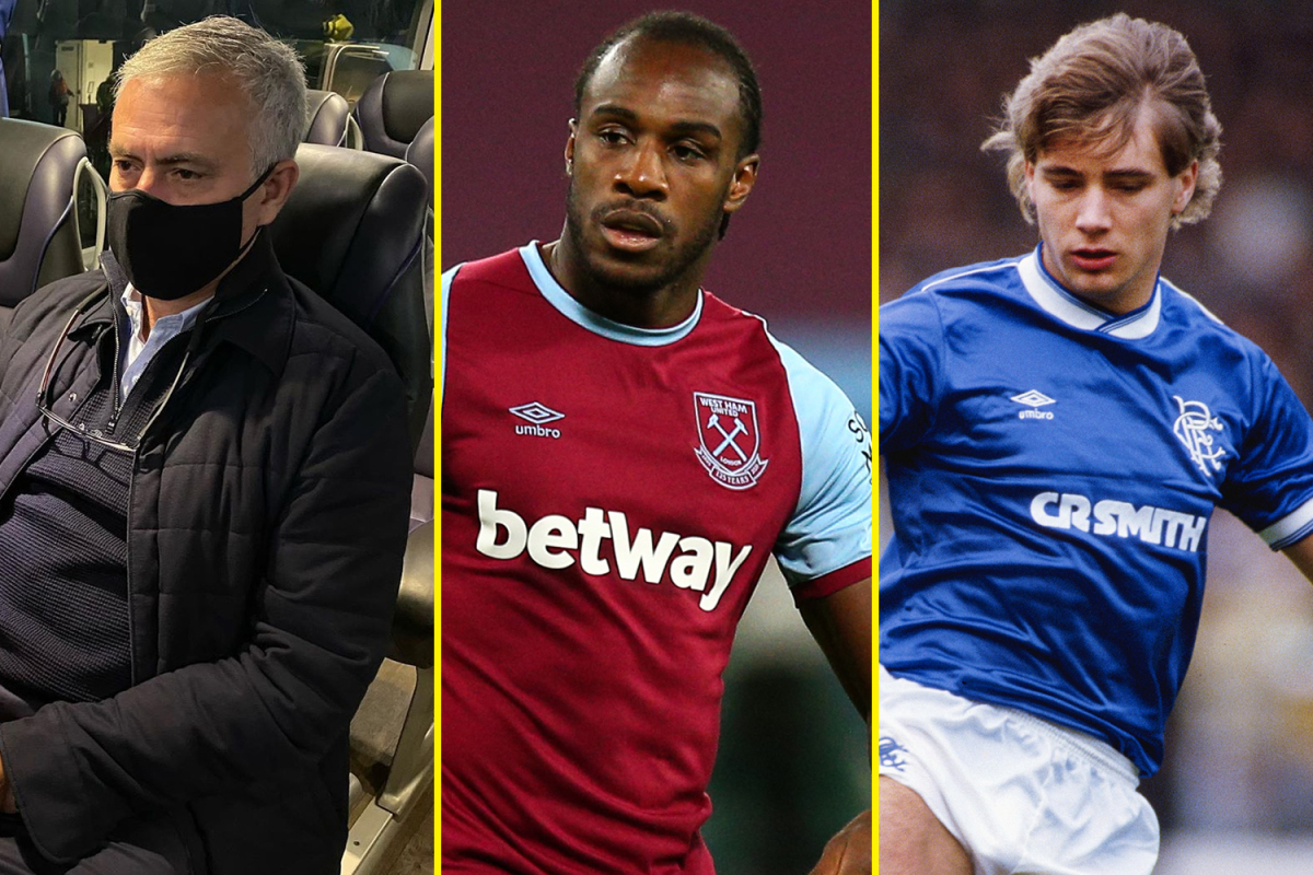 Mourinho fumes at Tottenham flops on Instagram, West Ham suffer Antonio blow, Giggs' Man United title fears, McCoist's Rangers record equalled