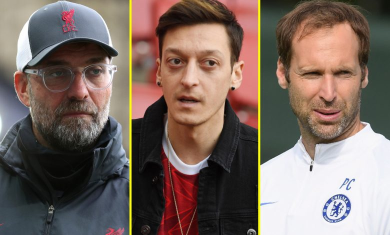 Ozil hits out at Arsenal after squad snub, Ajax vs Liverpool build-up, Manchester United chief Woodward denies European Premier League talks, Lampard told to pick Cech over Kepa