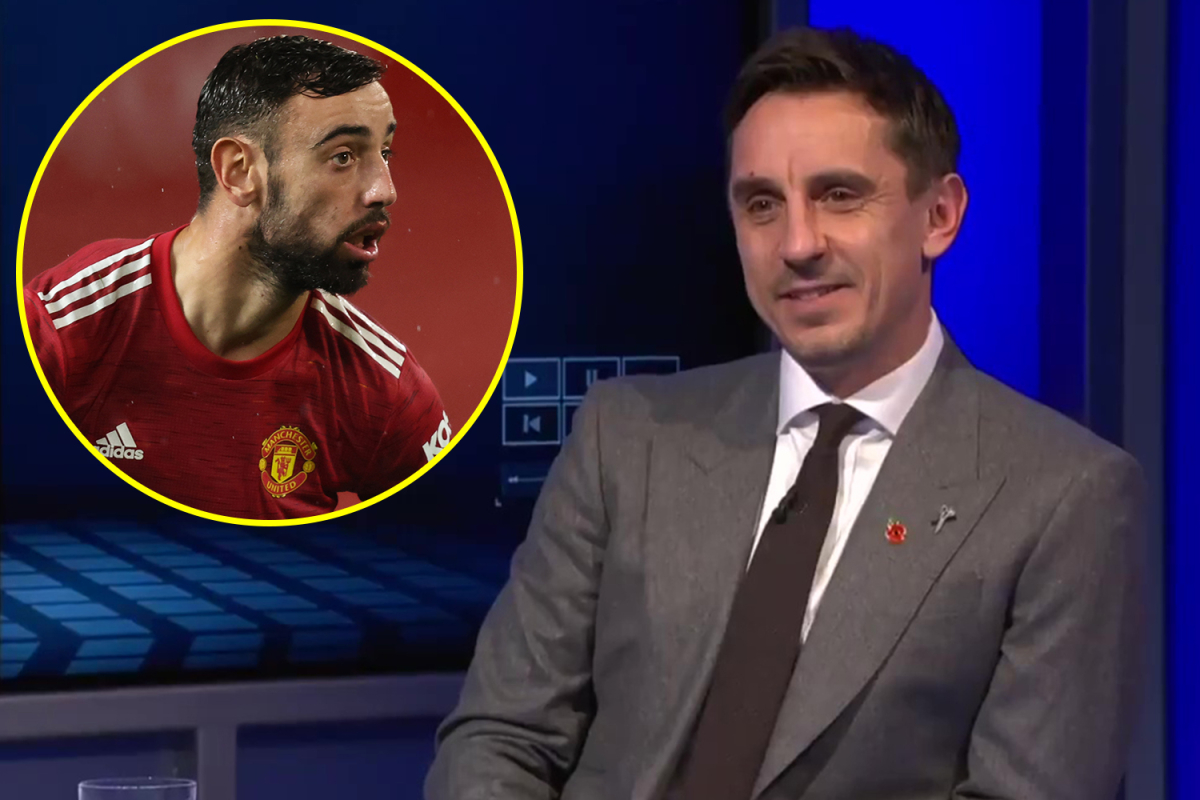 Paul Pogba and Bruno Fernandes could become Manchester United's very own Silva and De Bruyne if Ole Gunnar Solskjaer changes his formation, claims Gary Neville