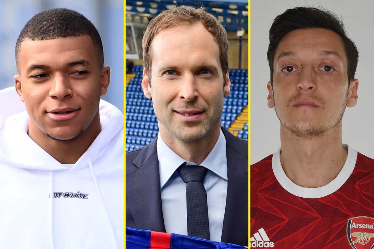 Petr Cech named in Chelsea's Premier League squad, Manchester United beat PSG as Blues draw, Ozil axed by Arsenal, Mbappe to Liverpool next summer?