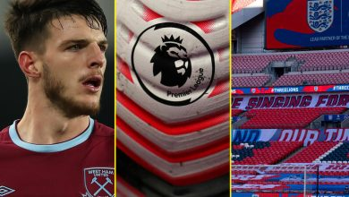 Photo of Premier League golf equipment reject Challenge Large Image, Declan Rice 'an improve on N'Golo Kante for Chelsea', England vs Denmark construct up and stay commentary