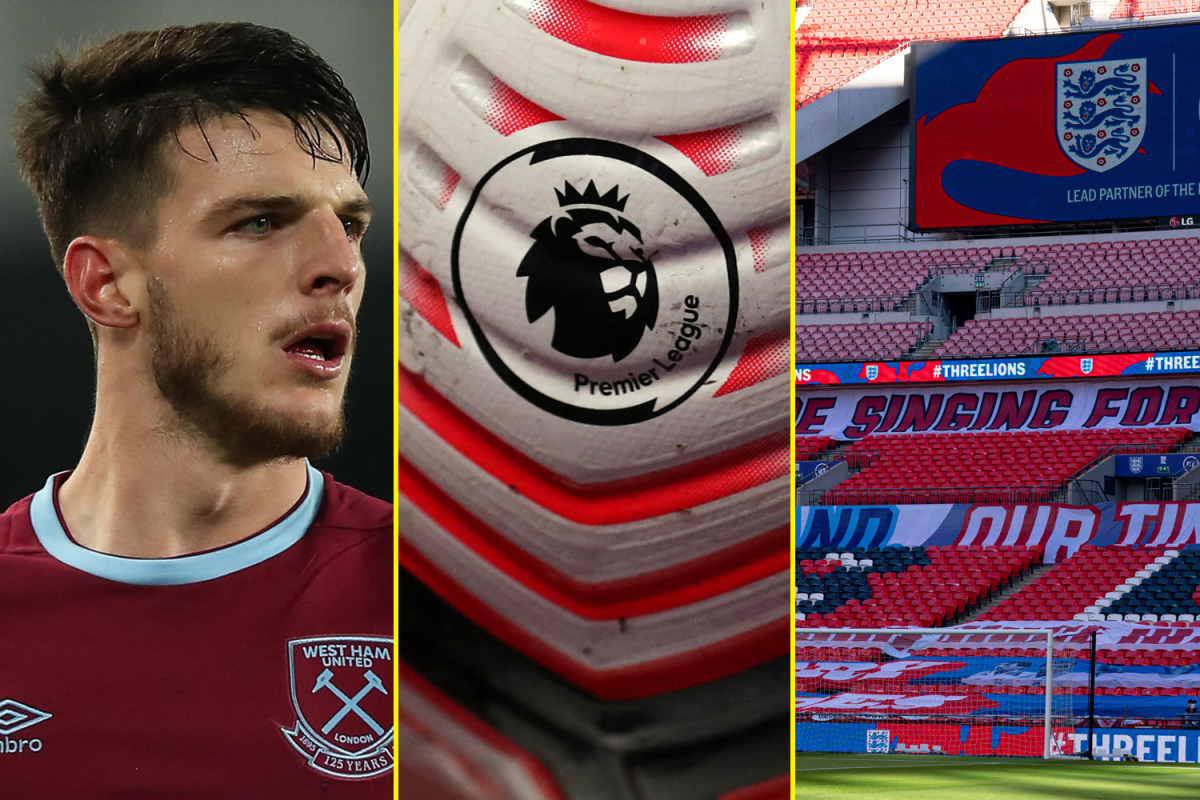 Premier League clubs reject Project Big Picture, Declan Rice 'an upgrade on N'Golo Kante for Chelsea', England vs Denmark build up and live commentary