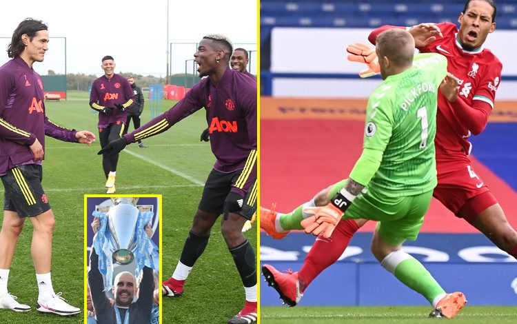 Premier League news live: Cavani and Maguire out of PSG vs Manchester United, police investigate offensive tweets sent to Everton duo as Van Dijk ACL injury confirmed