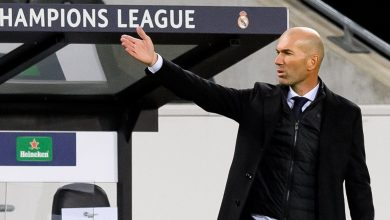 Photo of Actual Madrid boss Zinedine Zidane says relationship between Karim Benzema and Vinicius Junior is 'good' after half-time controversy in Borussia Monchengladbach draw