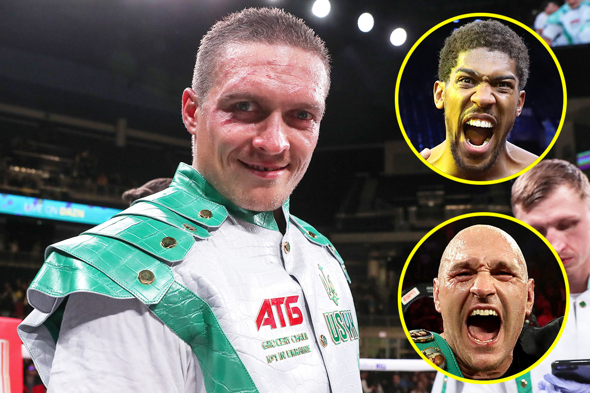 Tony Bellew backs Oleksandr Usyk to succeed at heavyweight – but believes he will NEVER beat Anthony Joshua or Tyson Fury