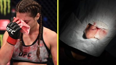 Photo of UFC 254 outcomes: Dana White reveals off grotesque pictures of Liana Jojua's bloody nostril after Miranda Maverick lands nasty elbow on Struggle Island