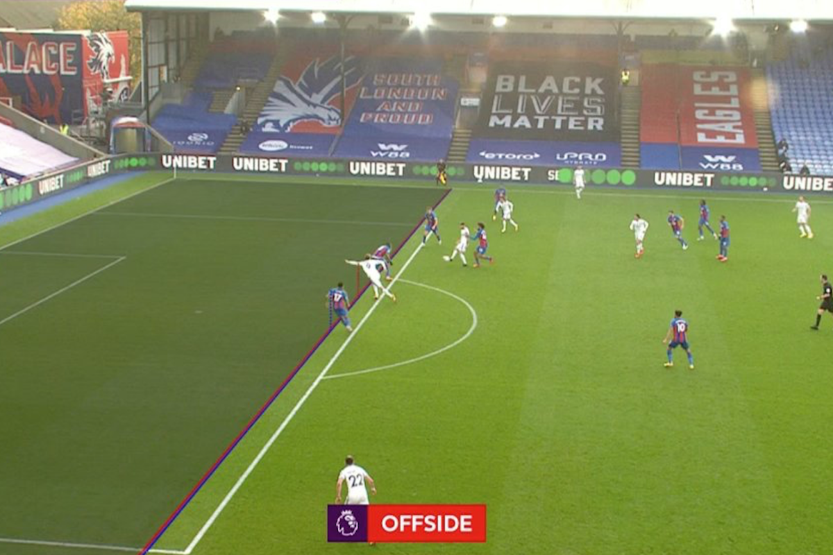 'Worst ever' VAR decision rules out Patrick Bamford goal for offside in Crystal Palace vs Leeds clash