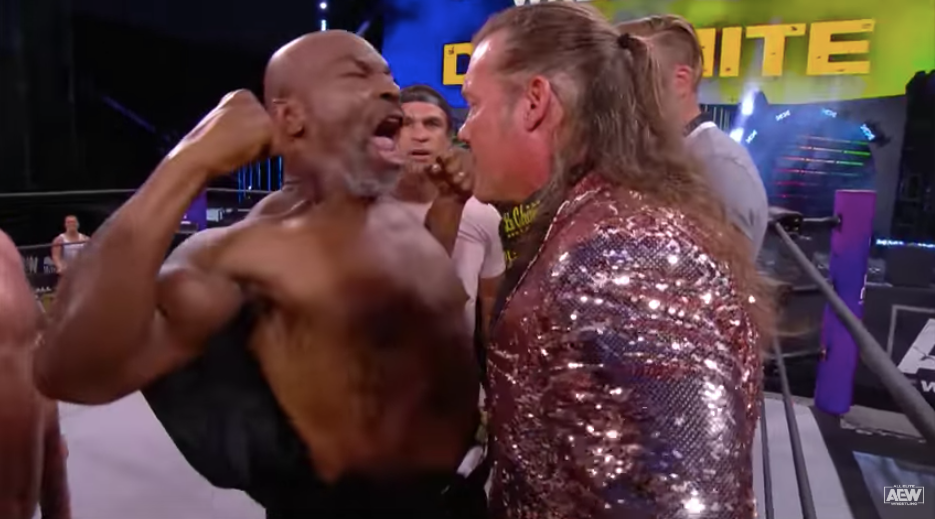AEW star Chris Jericho reveals there were talks for him to have a boxing match or to wrestle against Mike Tyson