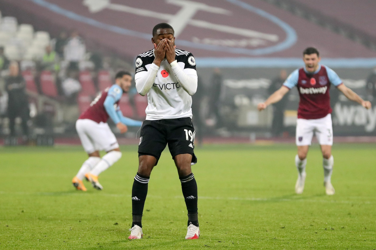 Ademola Lookman misses disastrous Panenka penalty in eighth minute of added time as Fulham lose at West Ham