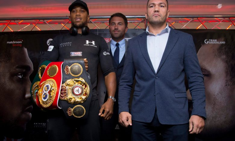 Anthony Joshua vs Kubrat Pulev could have fans in attendance on December 12 as Eddie Hearn reveals talks are taking place
