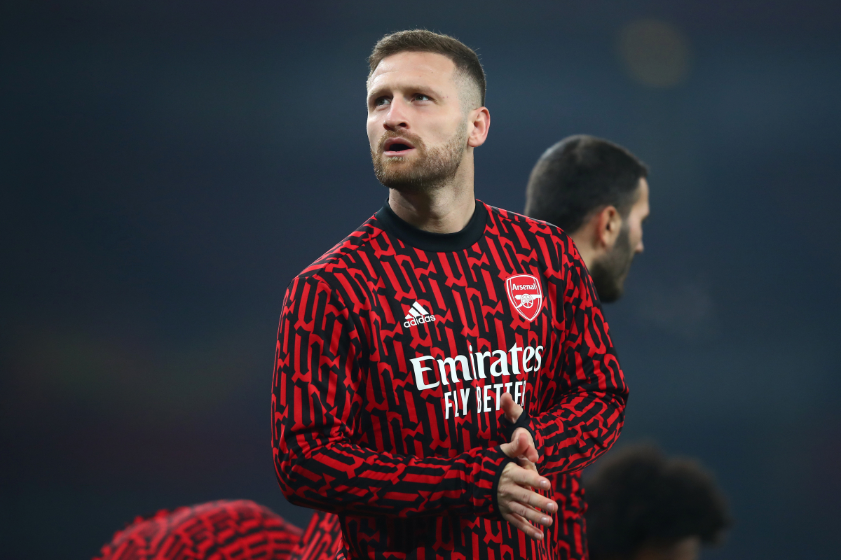 Barcelona linked with shock January move to sign Arsenal centre-back Shkodran Mustafi in short-term transfer