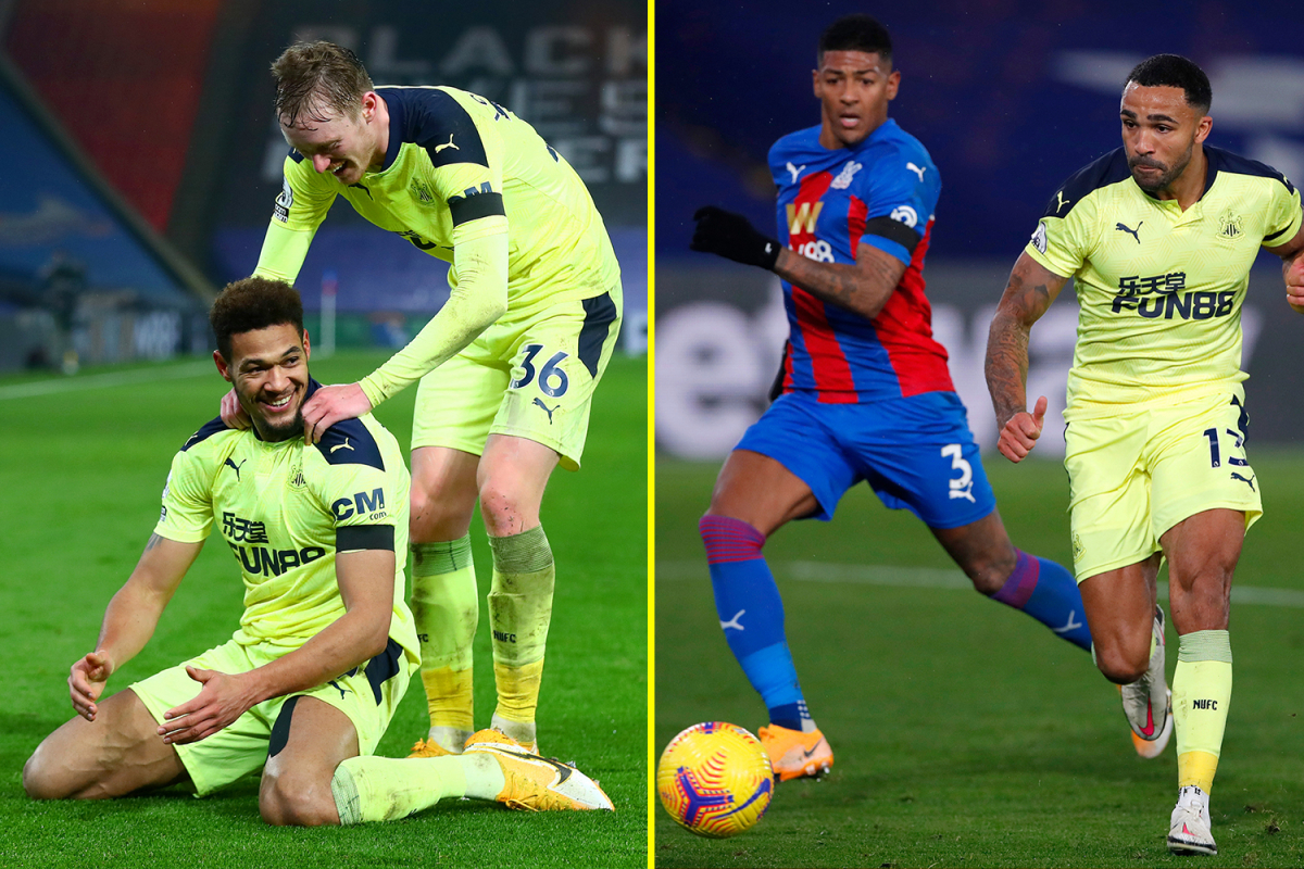 Callum Wilson and Joelinton's last-gasp goals snatch Newcastle crucial victory over Crystal Palace