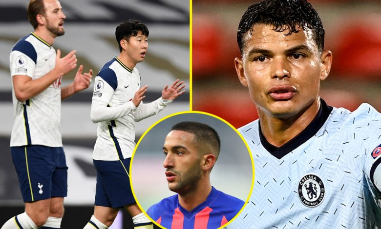 Chelsea vs Tottenham key battles, including how to stop Harry Kane and Heung-min Son scoring goals and what to do about Hakim Ziyech