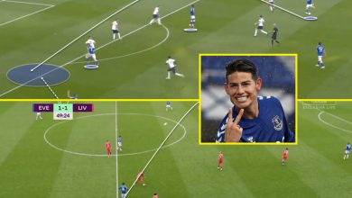 Photo of Everton star James Rodriguez has proved Premier League doubters flawed by dominating and dictating play in opposition to Liverpool and Tottenham