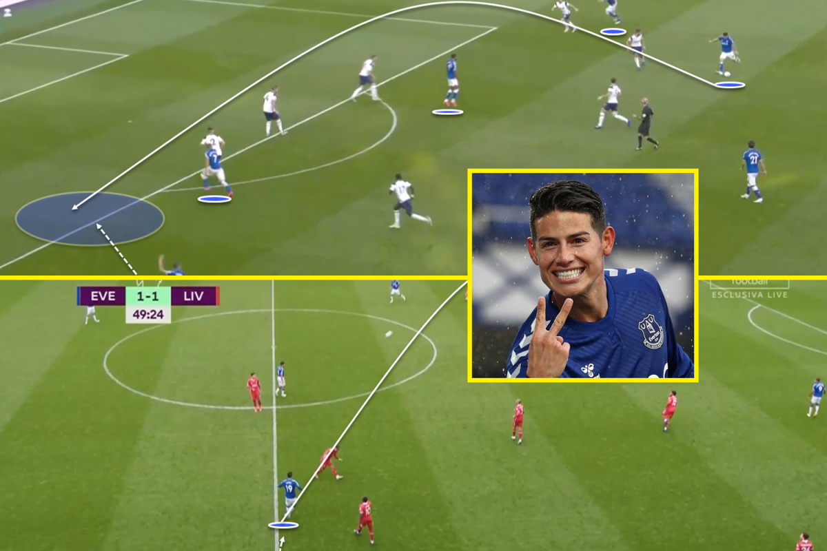 Everton star James Rodriguez has proved Premier League doubters wrong by dominating and dictating play against Liverpool and Tottenham