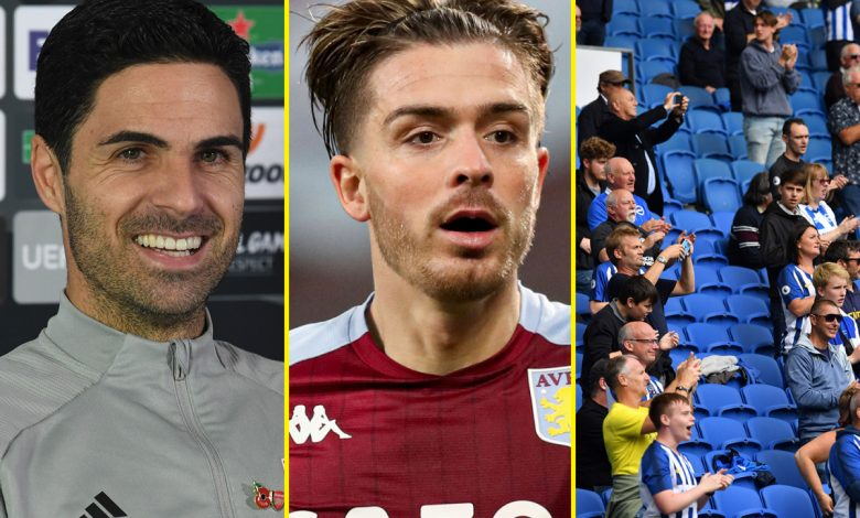 Football news and gossip LIVE: 'Arsenal must back Arteta like Liverpool trusted Klopp', Jack Grealish pleads guilty to careless driving, Premier League clubs could reject return of fans