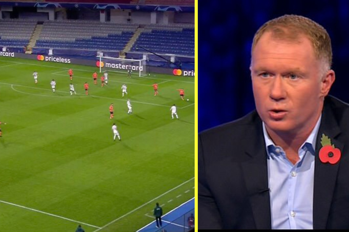 Furious Paul Scholes tears into 'embarrassing' Man United defence as Demba Ba scores for Istanbul Basaksehir – 'it's like Under 10's football'