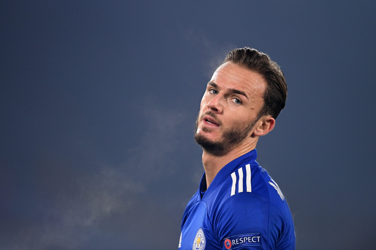James Maddison reacts to England snub by Gareth Southgate following Leicester's Europa League win against Braga