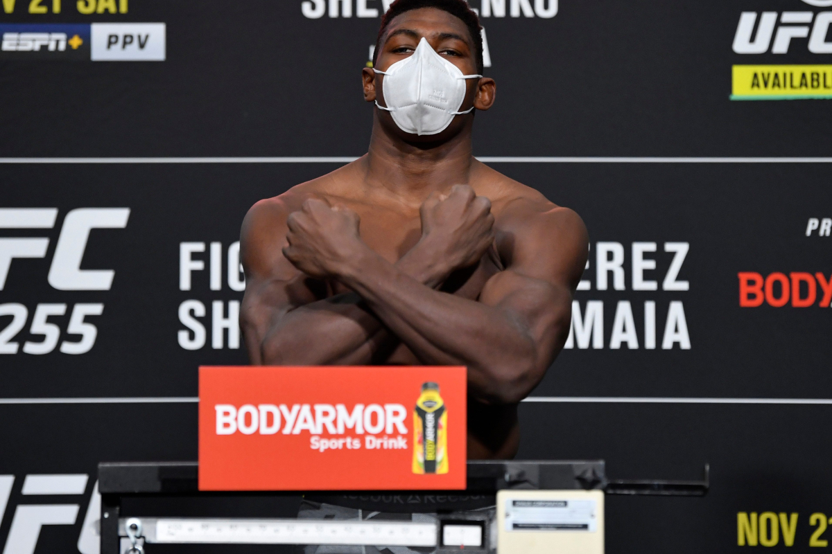 Joaquin Buckley inspired Kanye West with UFC knockout and promises fans to 'expect fireworks'