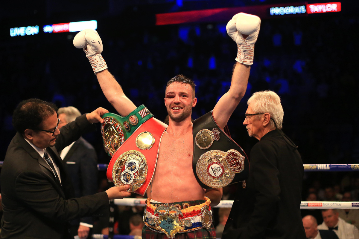 Josh Taylor: 'I would take a fight with Terence Crawford tomorrow… but I'm not writing Kell Brook off'