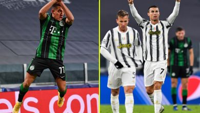 Photo of Juventus star Cristiano Ronaldo trolled by Ferencvaros striker who copies his objective celebration however strikes again to equal Lionel Messi document