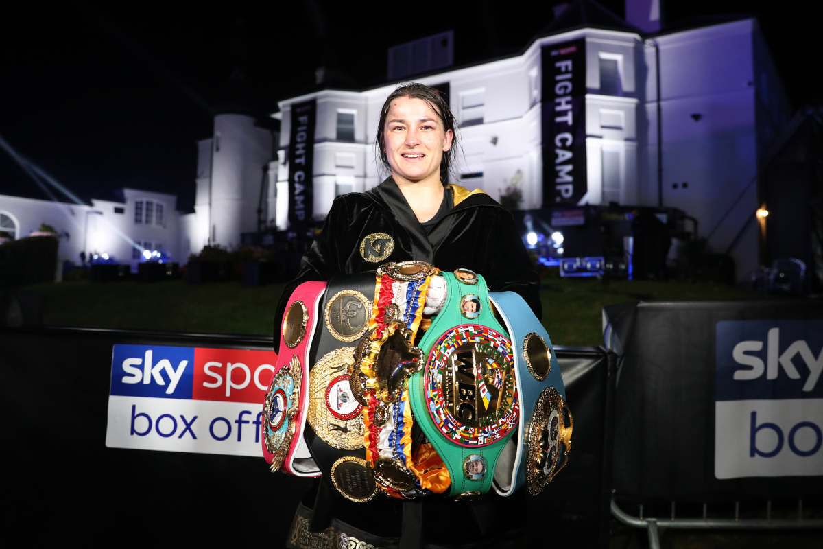 Katie Taylor v Miriam Gutierrez date: Bray Bomber defends her titles this weekend – UK start time, live stream and full undercard including Harper v Thanderz