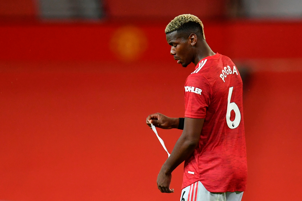 Manchester United midfielder Paul Pogba accepts blame for 'stupid mistake' in damaging defeat to Arsenal