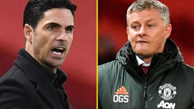 Photo of Arsenal vs Manchester United LIVE commentary: Line-ups confirmed forward of Premier League conflict – Tierney, Saka and Aubameyang out as Cavani begins