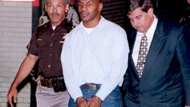 Photo of Mike Tyson on his one and solely struggle in jail, incomes respect and being visited by Tupac Shakur